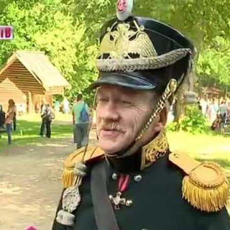 На Щелоковском хуторе прошла реконструкция боя эпохи наполеоновских войн