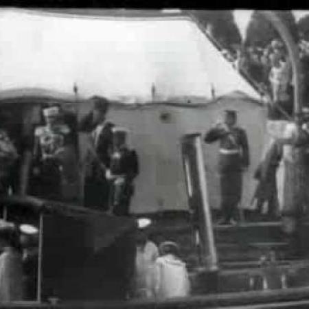 Свидание Николая II с британским королем Эдуардом VII на Ревельском рейде